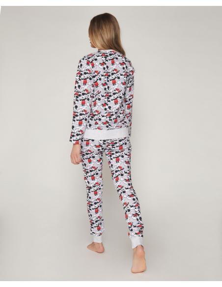 DISNEY Pijama Manga Larga Mickey para Mujer - Imagen 3