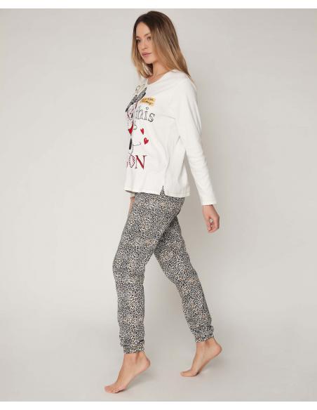 DISNEY Pijama Manga Larga Fashion Darling para Mujer - Imagen 2