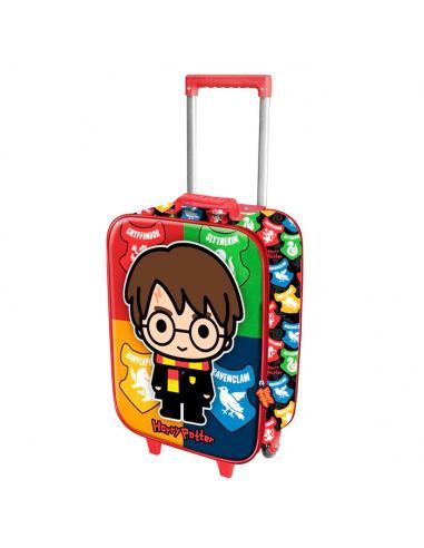 Trolley 3D Chibi Harry Potter 47cm - Imagen 1