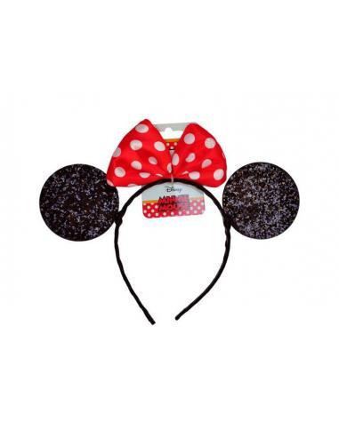 Diadema orejas de Minnie Mouse - Imagen 1