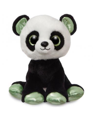 Peluche Aurora Sparkle Tales Panda 18cm linea 'Pandas' (3/12) - Imagen 1