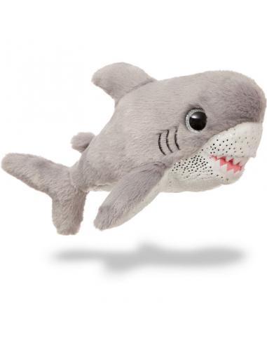 Peluche Aurora Sparkle Tales Tiburon Gris 18cm linea 'Animales De Mar' (3/12) - Imagen 1