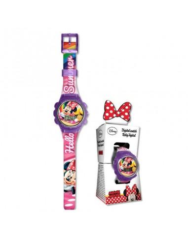 Reloj digital de Minnie Mouse