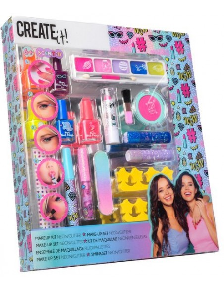 Set 17 piezas cosmética de Create It