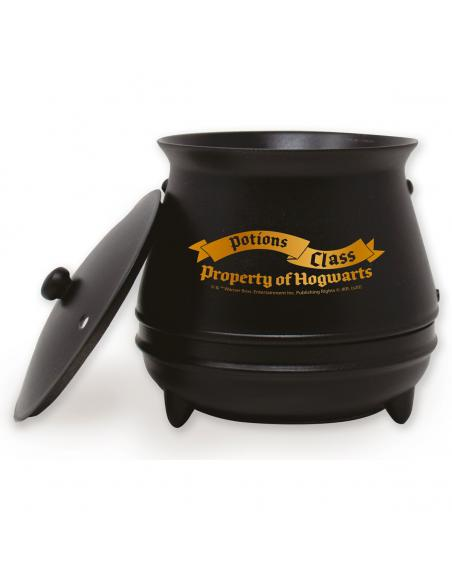 Taza caldero Harry Potter con boton - Imagen 1