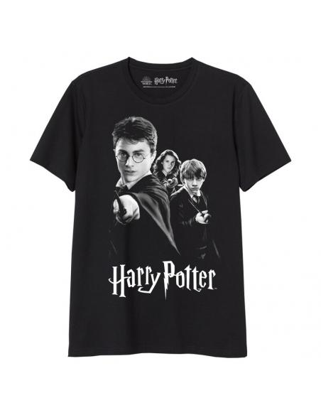 Camiseta juvenil/adulto de Harry Potter (talla: S, color: black) - Imagen 1