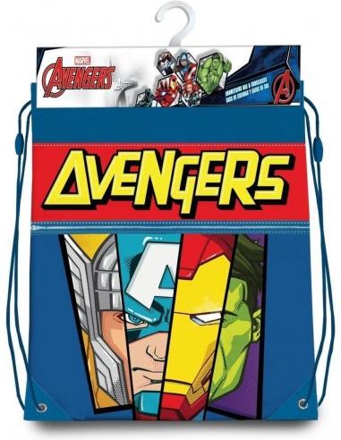 Bolsa cordones gym bag 42cm de Avengers