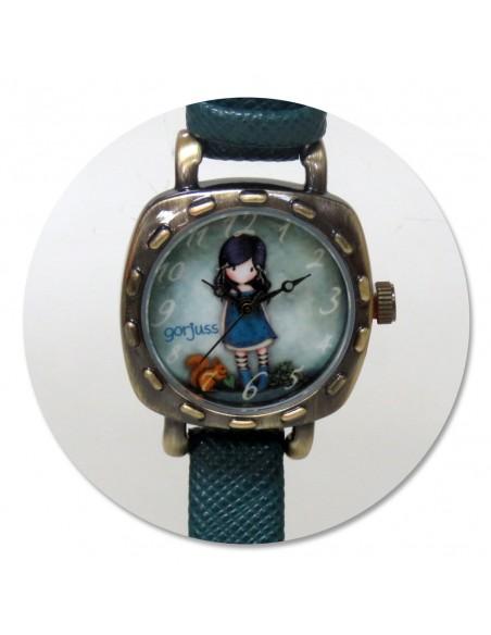 Reloj de pulsera calidad premium con caja de Gorjuss