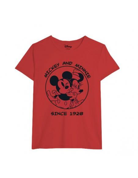 Camiseta juvenil/adulto de Minnie Mouse - Imagen 1