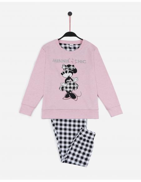 DISNEY Pijama Manga Larga Minnie Chic para Niña - Imagen 1