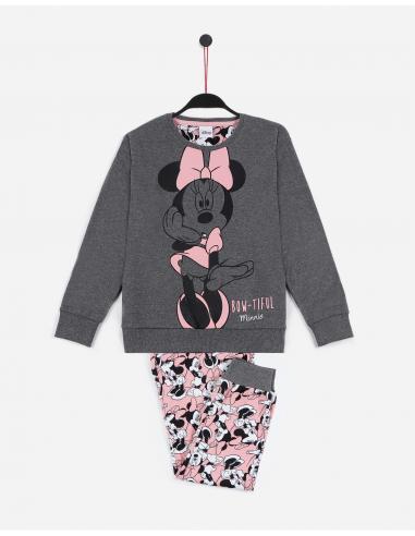 DISNEY Pijama Manga Larga Bowtiful Minnie para Niña - Imagen 1