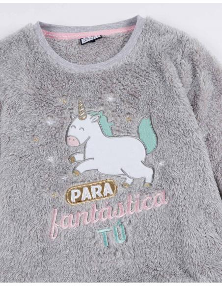 MR WONDERFUL Pijama Calentito Manga Larga Fantástica para Niña - Imagen 2