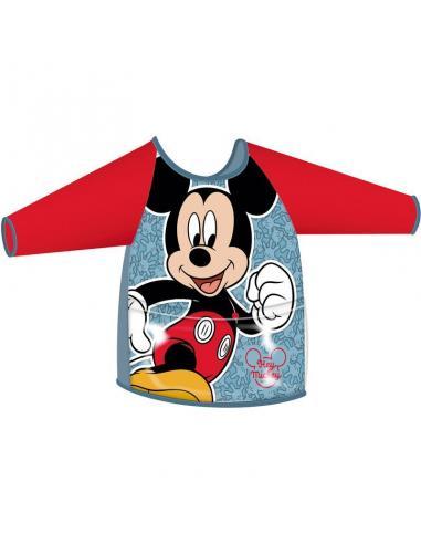 Delantal pvc mate manga larga de Mickey Mouse (12/48) - Imagen 1