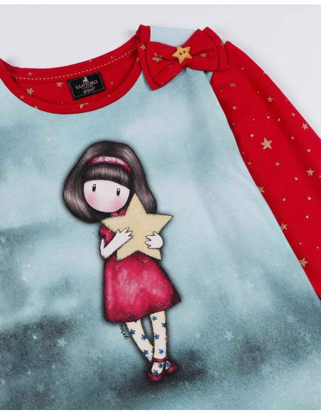 SANTORO GORJUSS Pijama Manga Larga My Star para Niña - Imagen 2