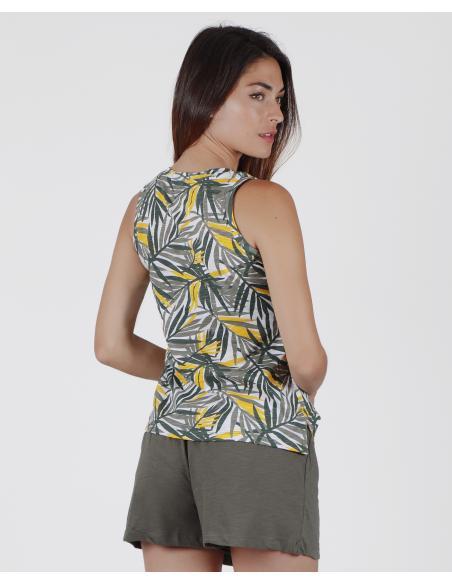 NATIONAL GEOGRAPHIC Pijama Tirantes Vegetal para Mujer - Imagen 2