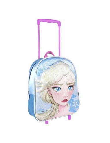 Mochila Carro Infantil 3D Lentejuelas de Frozen 2 (1/6) - Imagen 1