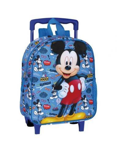 Mochila con ruedas de Mickey Mouse 'Famous' (1/12) - Imagen 1