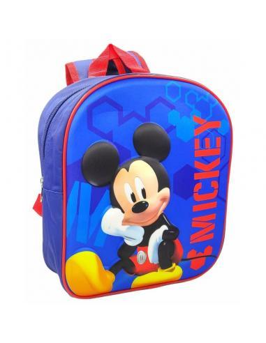 Mochila 3D 30cm de Mickey Mouse - Imagen 1