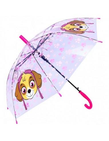 Paraguas transparente automatico de 38cm de Paw Patrol La Patrulla Canina