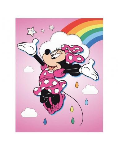 Manta polar 100x140cm de Minnie Mouse - Imagen 1