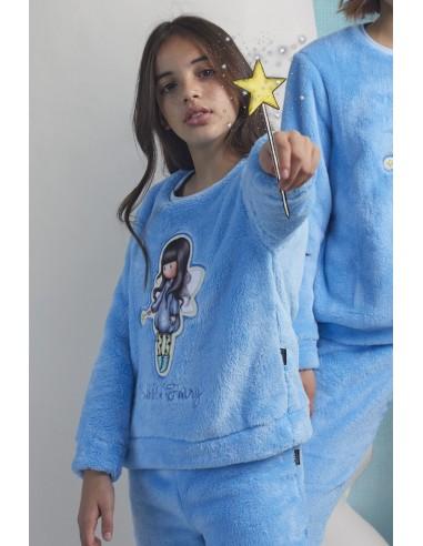 SANTORO GORJUSS Pijama Calentito Manga Larga Bubble Fairy para Niña