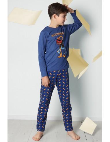 DISNEY Pijama Manga Larga Lookingood para Niño