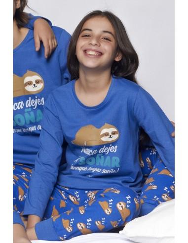 MR WONDERFUL Pijama Manga Larga Soñar para Niña