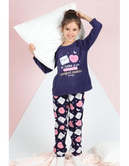 MR WONDERFUL Pijama Manga Larga Mi Cama y Yo